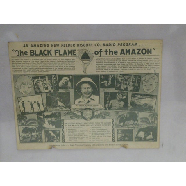 1938 Black Flame Radio Expedition and Broadcast Station For Sale - Image 4 of 5
