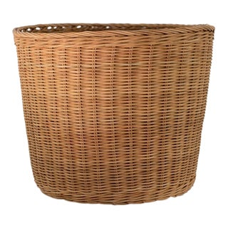 Extra Small Natural Wicker Planter Basket
