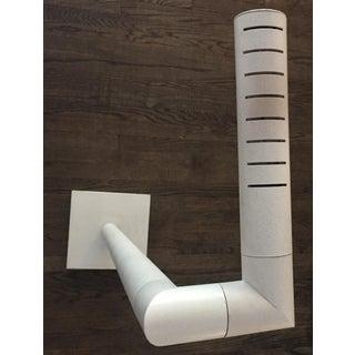 1970s White Tube Floor Lamp - Aldo Nieuwelaar Style Preview