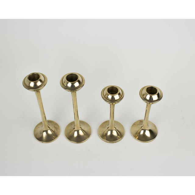 Paul McCobb Mid-Century Modern Globe Candlestick Holders - Set of 4 For Sale - Image 4 of 9