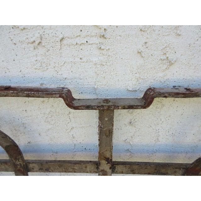 Antique Victorian Iron Gate Door For Sale In Philadelphia - Image 6 of 7
