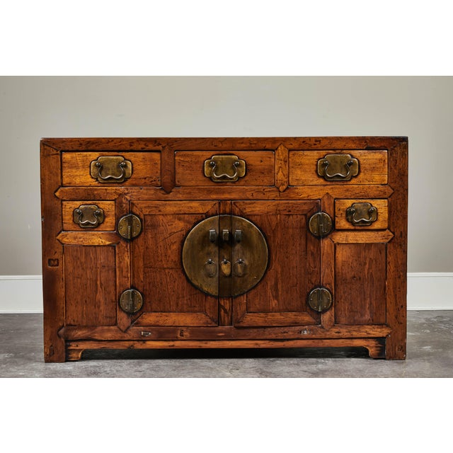 19th C. Chinese Poplar Sideboard For Sale - Image 10 of 10
