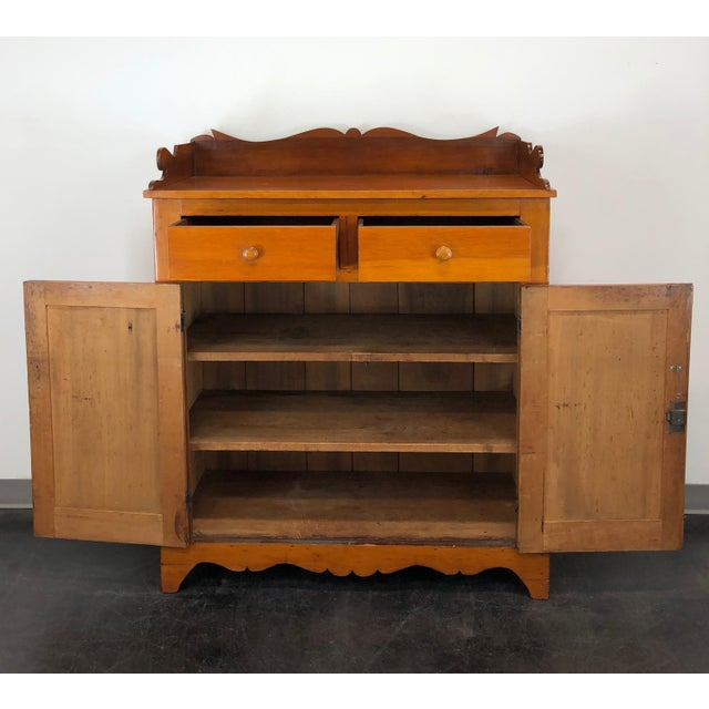 Brown Antique 19th Century Mixed Wood Jelly Cupboard For Sale - Image 8 of  12 - Antique 19th Century Mixed Wood Jelly Cupboard Chairish