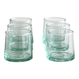 Moroccan Juice Glasses - Set of 6 For Sale