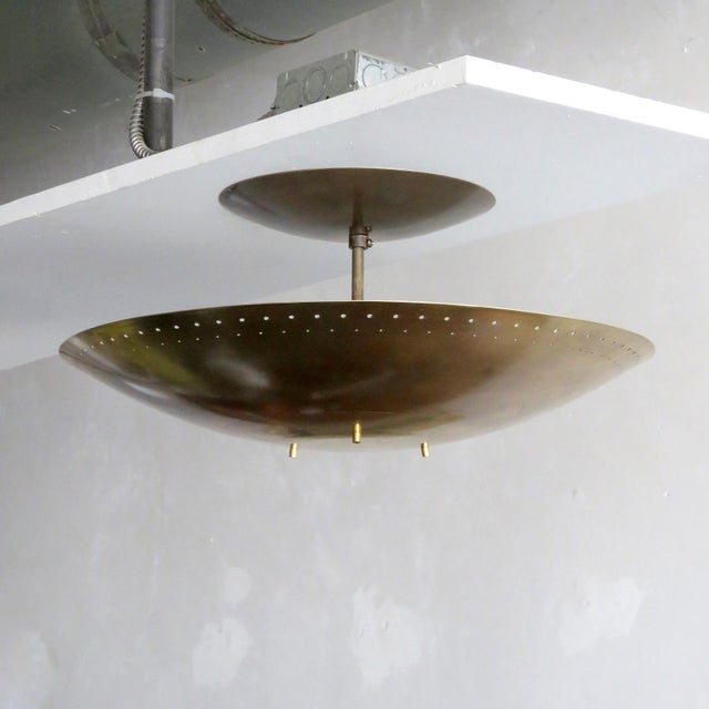 "Contemporary Gallery L7 ""Utah"" Ceiling Flush Mount For Sale - Image 3 of 11"