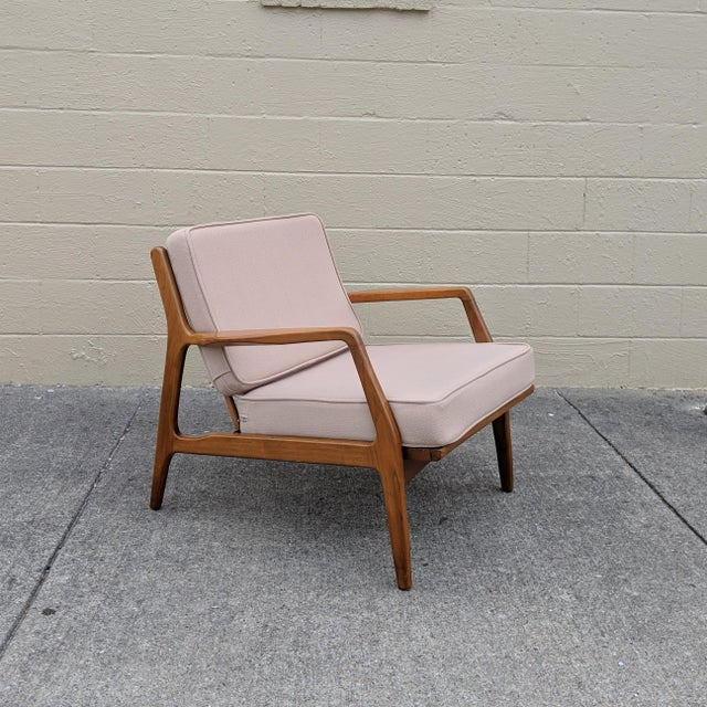 Mid-Century Ib Kofod-Larsen Danish Lounge Chair For Sale - Image 13 of 13