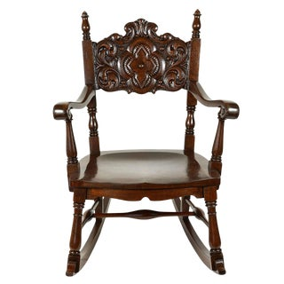 Oak Rocking Chair For Sale