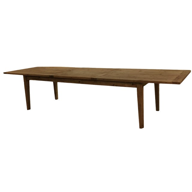 Parsons Rectangular Reclaimed Old Wood Dining Table - Image 1 of 10