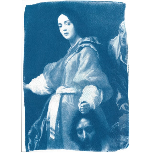 Painting of Judith Cyanotype Print - Image 5 of 5