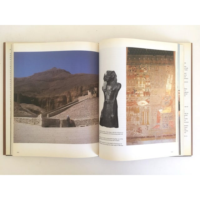 """ Ancient Egypt the Land & Its Legacy "" Vintage 1990 Cultural Arts Hardcover Book For Sale - Image 4 of 10"