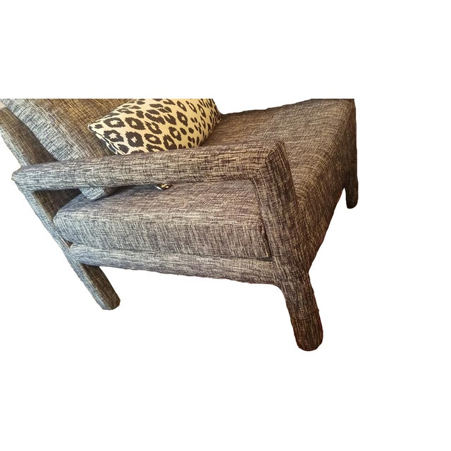 Mid-Century Modern Parsons Chair - Image 3 of 9