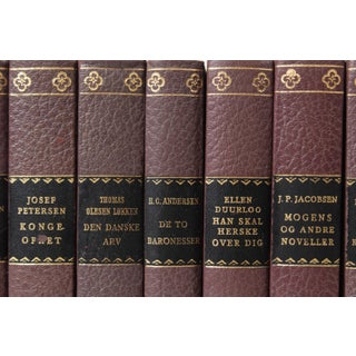 Scandinavian Leather-Bound Books S/10 Preview