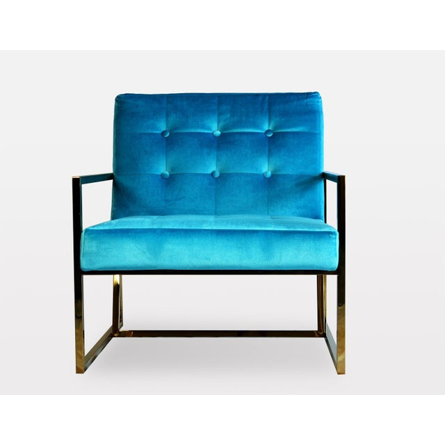 2010s Pasargad DC Millan Collection Leisure Chair For Sale - Image 5 of 9