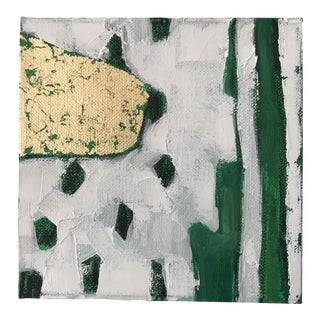 """Abstract """"Emerald City, 3"""" Original Painting by Alice Miles For Sale"""