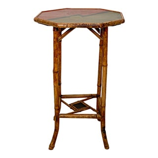 Victorian Bamboo Table, England Circa 1880 For Sale
