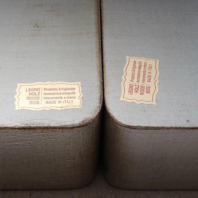 4-Piece Florentine Silver-Gilt Nesting Trays - Image 11 of 11