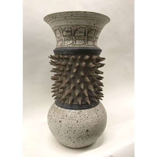Sculptural Studio Pottery Vase - Image 6 of 7