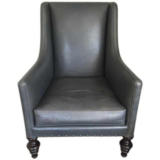 Ironies Cassis Chair & Ottoman - Image 3 of 5