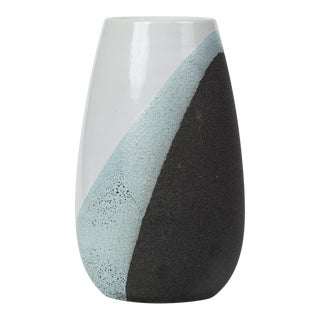Glazed Ceramic Vase by Ettore Sottsass for Bitossi For Sale