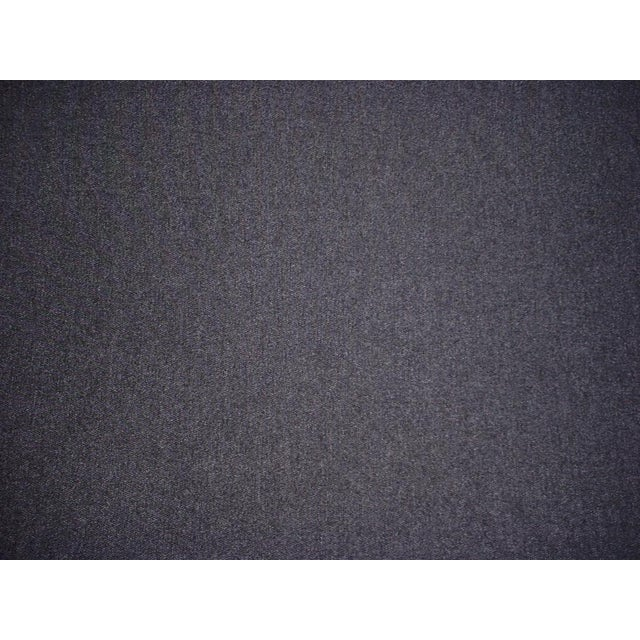 2010s Traditional Kravet Couture Charcoal Gray Heavy Wool Felt Upholstery Fabric - 18-1/4y For Sale - Image 5 of 5