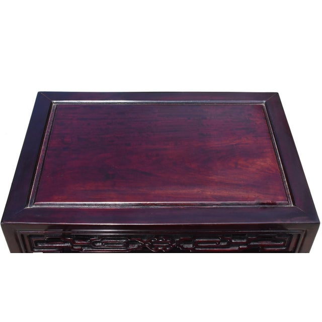 Wood Chinese Rosewood Nesting Tables - Set of 4 For Sale - Image 7 of 13
