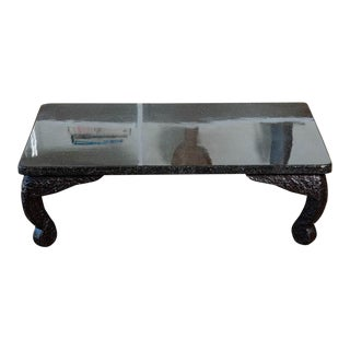 Japanese Resin Coffee Table For Sale