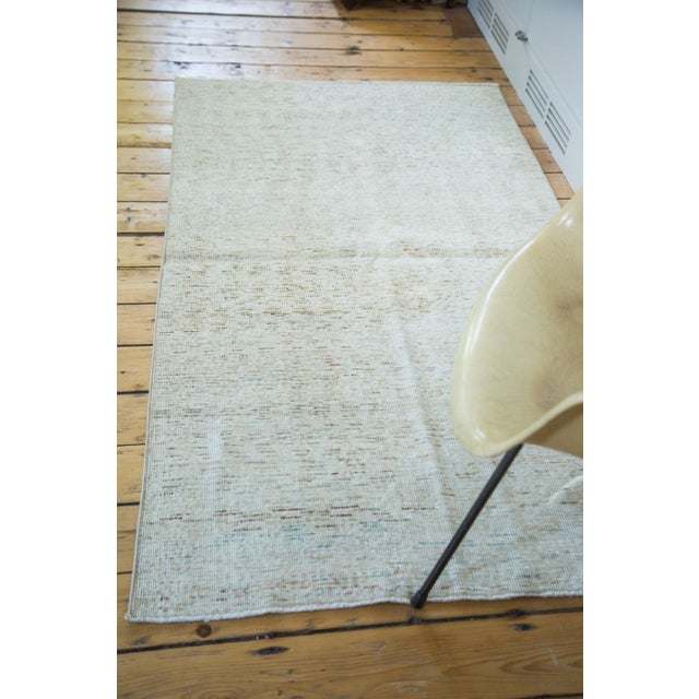 "Distressed Oushak Rug - 3'7 x 6'4"" - Image 3 of 7"