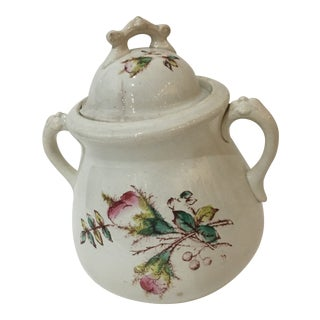 C. C. Thompson Co. Rose Decor Porcelain Teapot For Sale