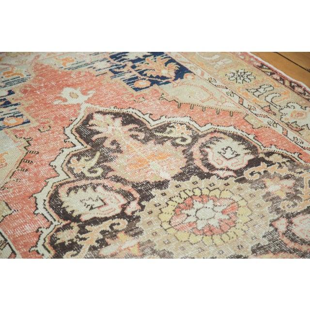 "Vintage Oushak Distressed Carpet - 4'10"" X 8'2"" - Image 3 of 10"