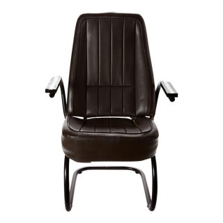 1968 Chevrolet Corvette Refurbished Leather Roadster Chair For Sale