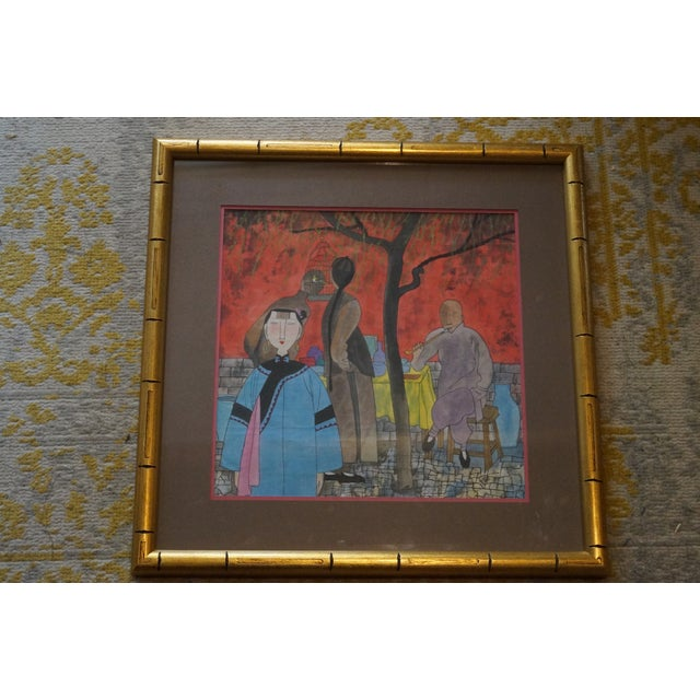 Modern Colorful Chinese Art Print For Sale - Image 11 of 11