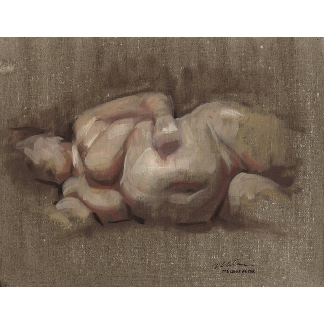 "2010s Peter Contemporary Nude Figure ""Flesh"" For Sale - Image 5 of 6"