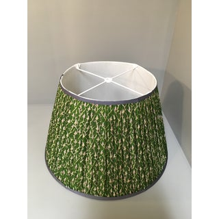Penny Morrison Green Floral Motif Lamp Shade Preview
