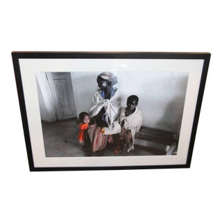 2009 Photograph of Mother and Children in Kenya For Sale
