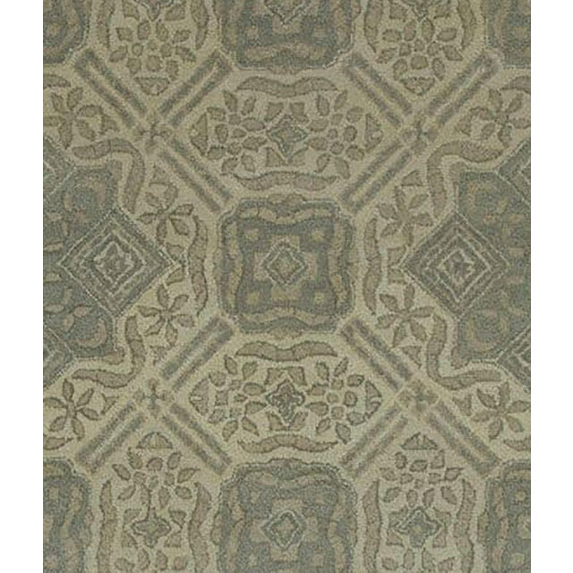 Contemporary Gray Traditional Pattern Rug - 5' x 8' For Sale - Image 3 of 4