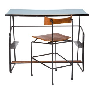 Jacques Seeuws Drafting Table and Chair for Swan