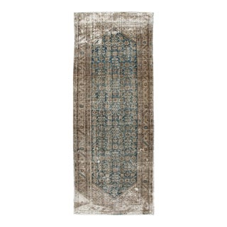 Vintage Distressed Malayer Wool Runner For Sale