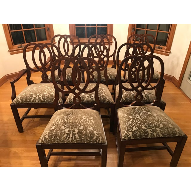 Beautiful Dining Chairs From The Now Retired Martha Stewart Signature Line For Bernhardt Graphic Openwork