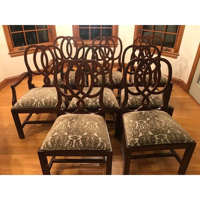 Bernhardt Martha Stewart Signature Ravenscleft Dining Chairs - Set of 8