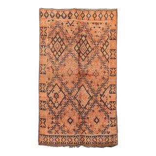 """Beni M'Guild Vintage Moroccan Rug, 5'10"""" X 9'11"""" For Sale"""