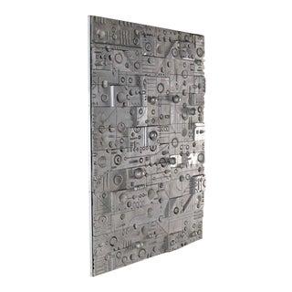 Large Wall Panel Cast Metal Vivid Details Puzzle Secret Door For Sale