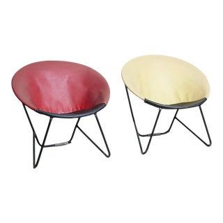 1960s Danish Balloon Chair - a Pair For Sale