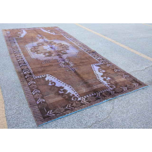 Vintage Tribal Turkish Rug - 5' X 10' - Image 3 of 5