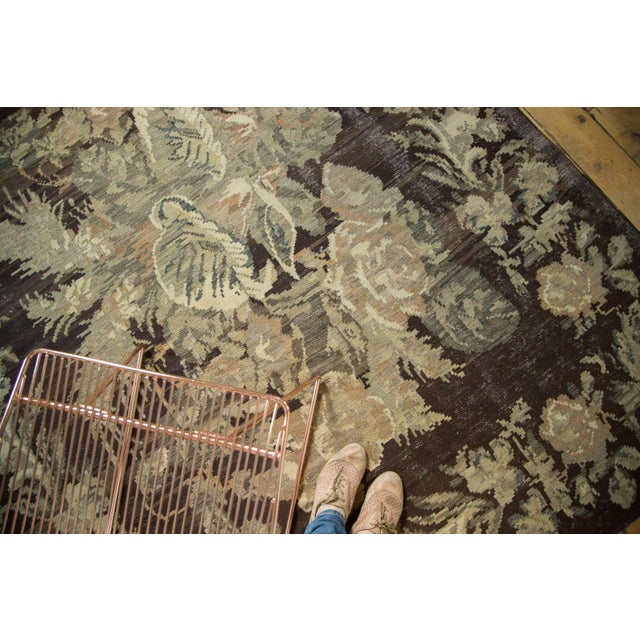 "Vintage Bessarabian Carpet - 6'5"" x 8'8"" - Image 6 of 8"