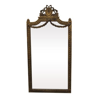 19th Century Ornate French Mirror