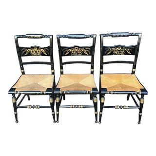 Hitchcock Chairs - Set of 3 For Sale