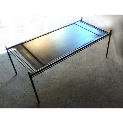 Strato Steel Coffee Table - Image 5 of 7