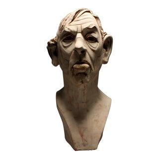 """""""Albert"""" Terracotta Sculpture"""