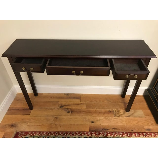 Traditional Sofa Table For Sale - Image 3 of 13
