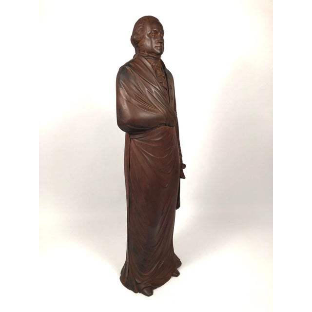 Large 19th Century George Washington Cast Iron Stove Figure For Sale - Image 4 of 13